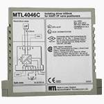 MTL4046C ISOLATING DRIVER for 4–20mA HART® valve positioners with line fault detection