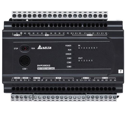 DVP20EX200R | DELTA | DVP-EX2 Series PLC