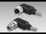 Cables / connectors Cable with male/female M12, 5-pin, angled, A-coded, 2 m Material no.: 10158249