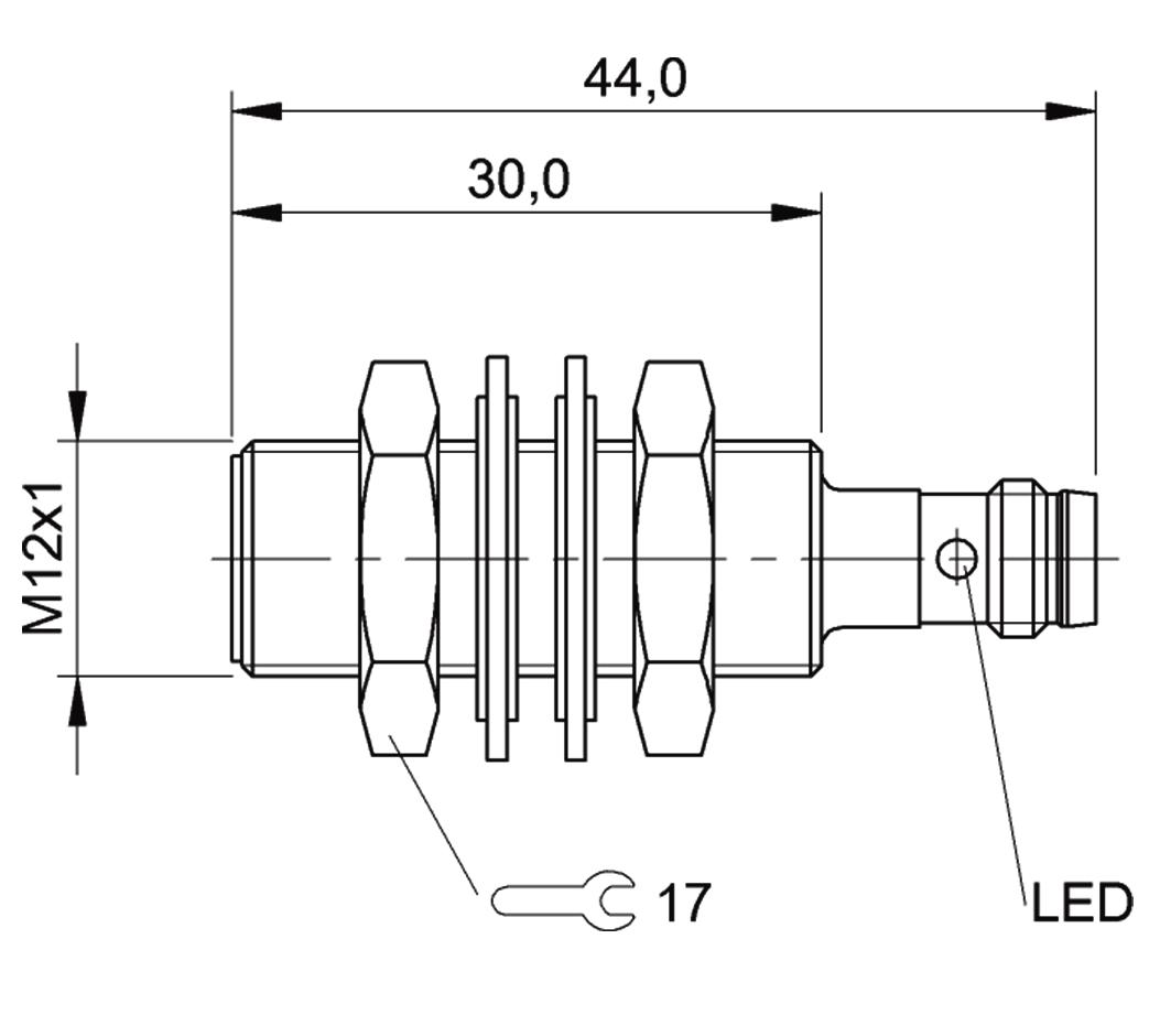 BALLUFF BES 516-325-G-E5-Y-S49 sensor