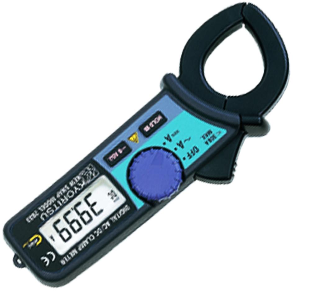 Kyoritsu Clamp-On Meter, Ac/Dc Current Model 2033