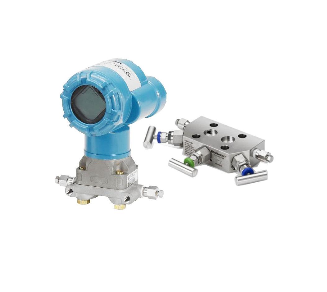 2051CD1A02A1BS5P1Q4+0305RC52B11B4   Rosemount   Coplanar Pressure  Transmitter+Integral Manifold