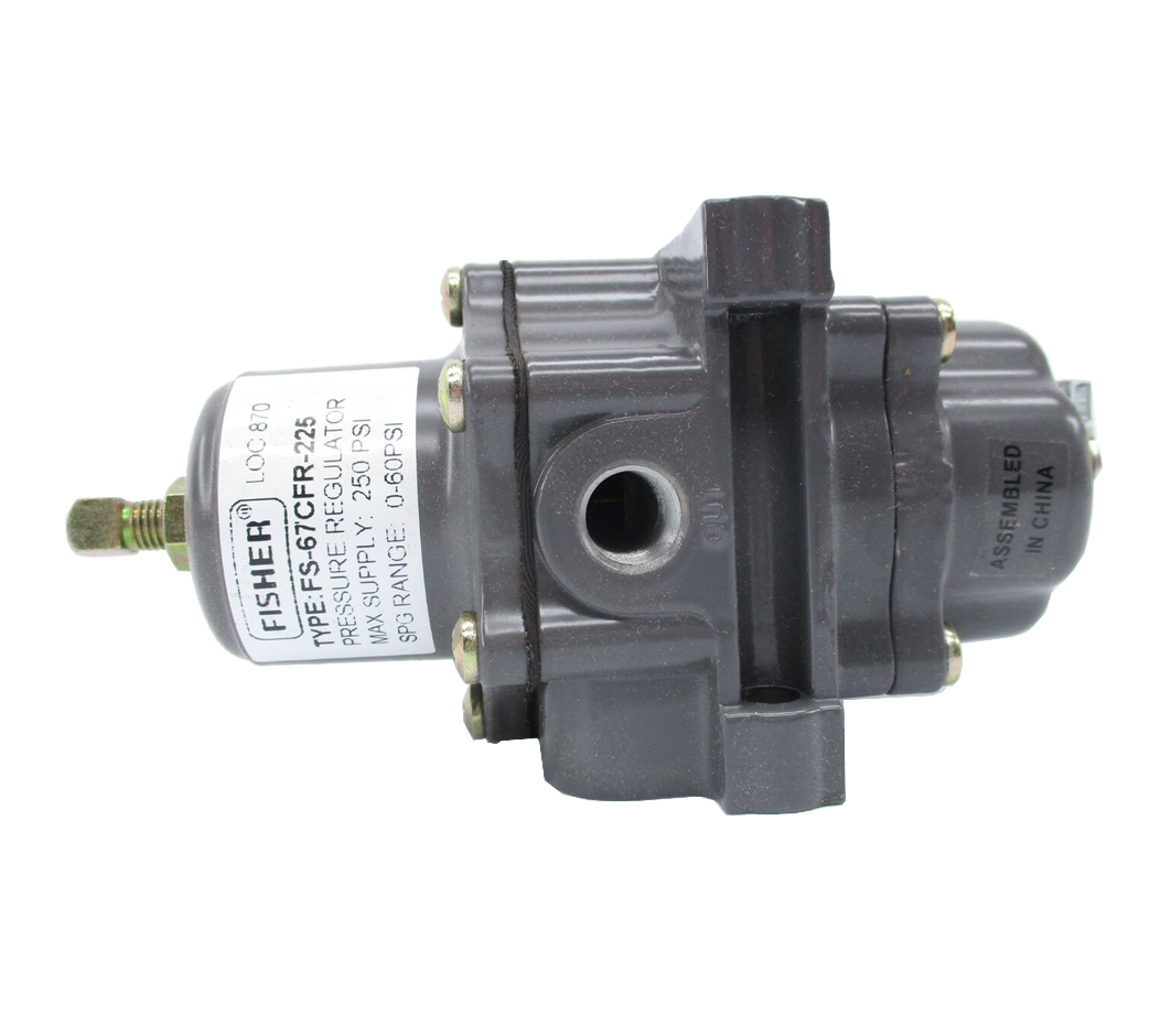 67CFR-225 | Fisher | 67C Series Instrument Supply Regulator