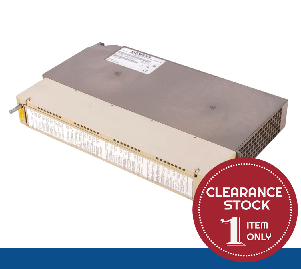 6ES5430-7LA12 | Siemens | SIMATIC S5 430 Digital Input Module (REFURBISHED !) *CLEARANCE STOCK - 1 UNIT ONLY*