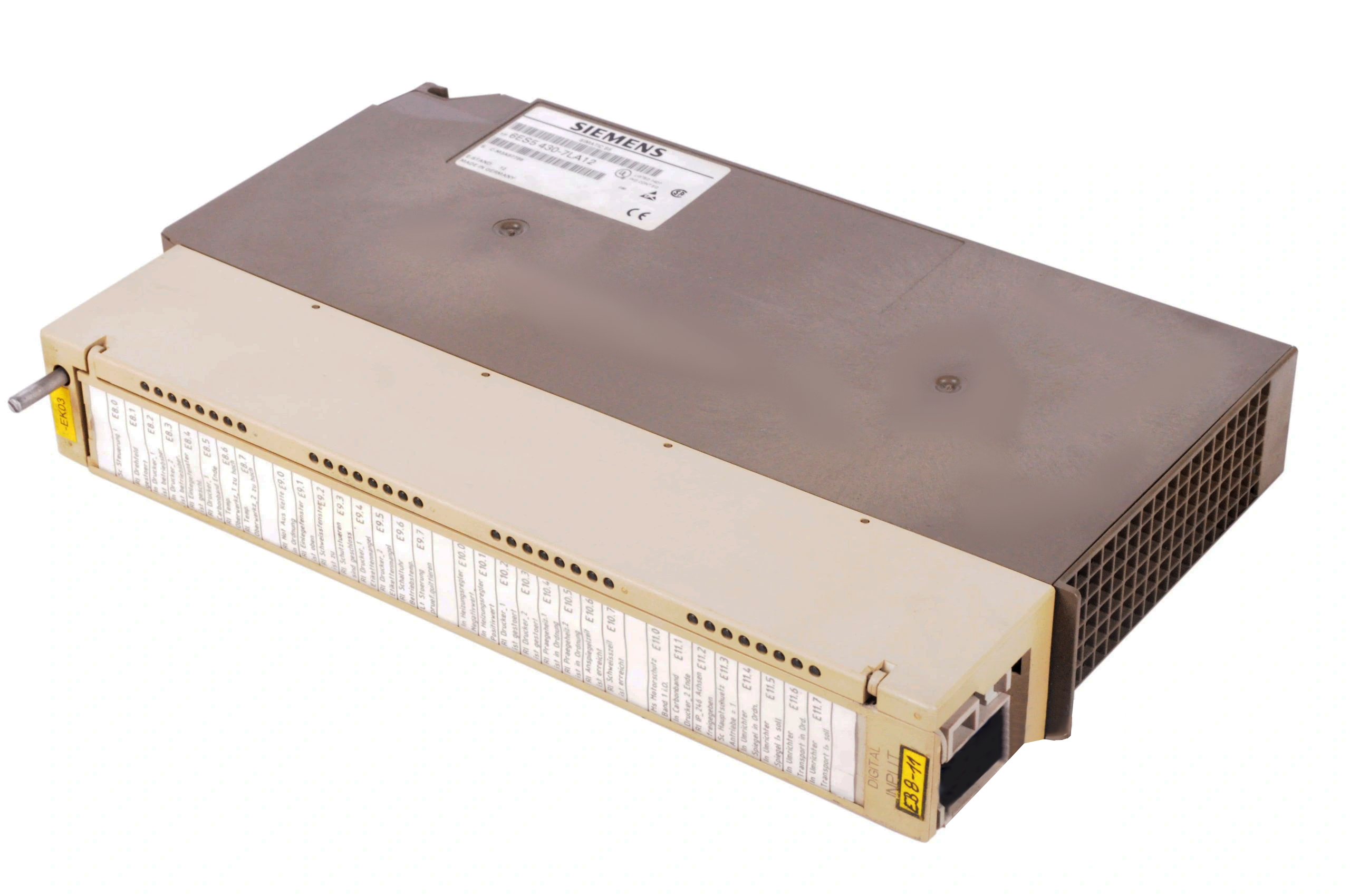 6ES5430-7LA12 | Siemens | SIMATIC S5 430 Digital Input Module *Ready Stock - 1 UNIT ONLY*