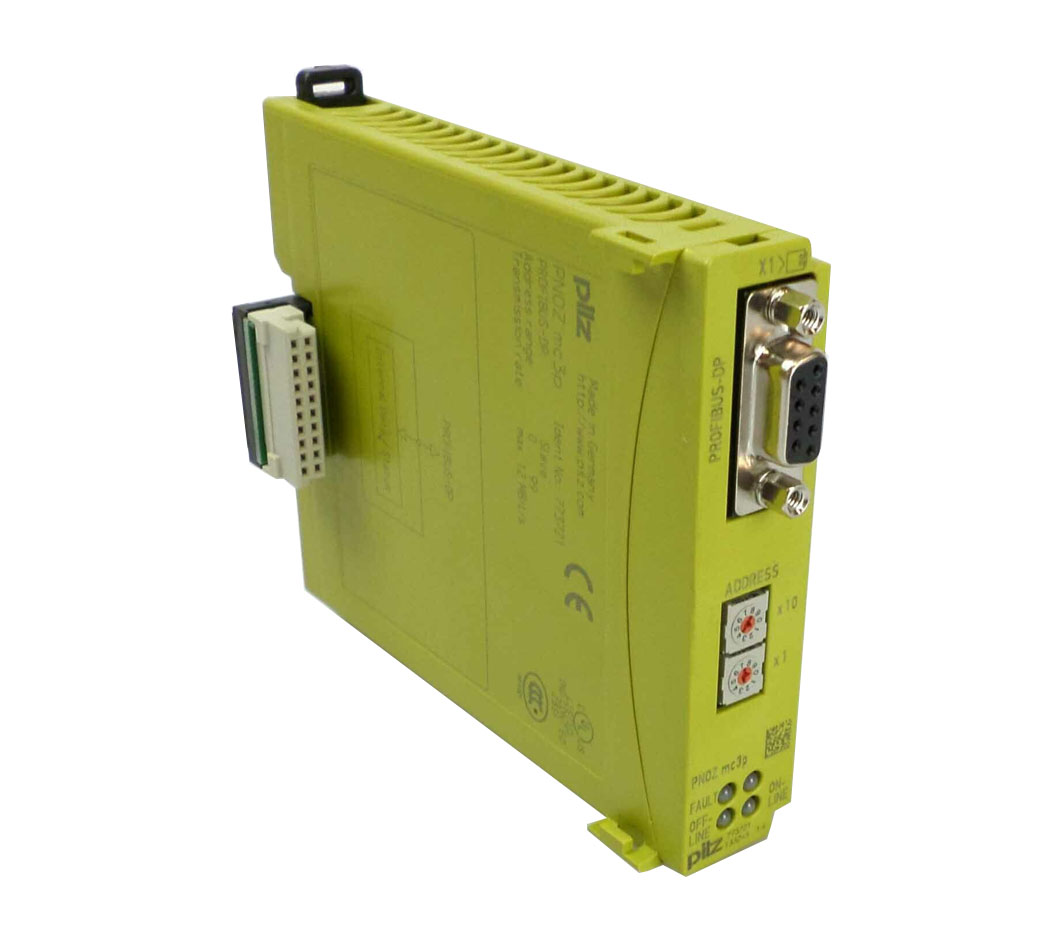 773721 | PILZ | PNOZ MC3P Safety Relay (Stop Production. New Replacement : 773732 PNOZ mc3p Profibus2)