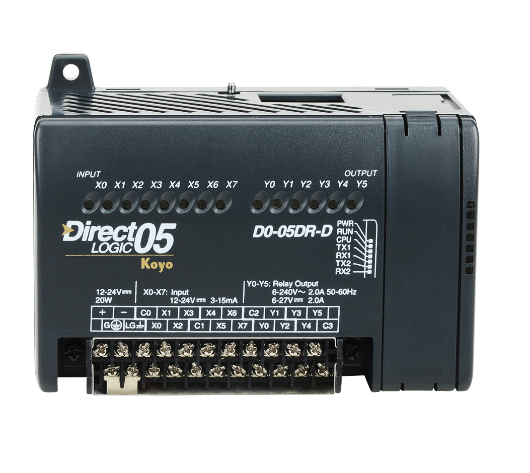 D0-05DR-D | Koyo | DC input 8 Points.Relay output 6 Points