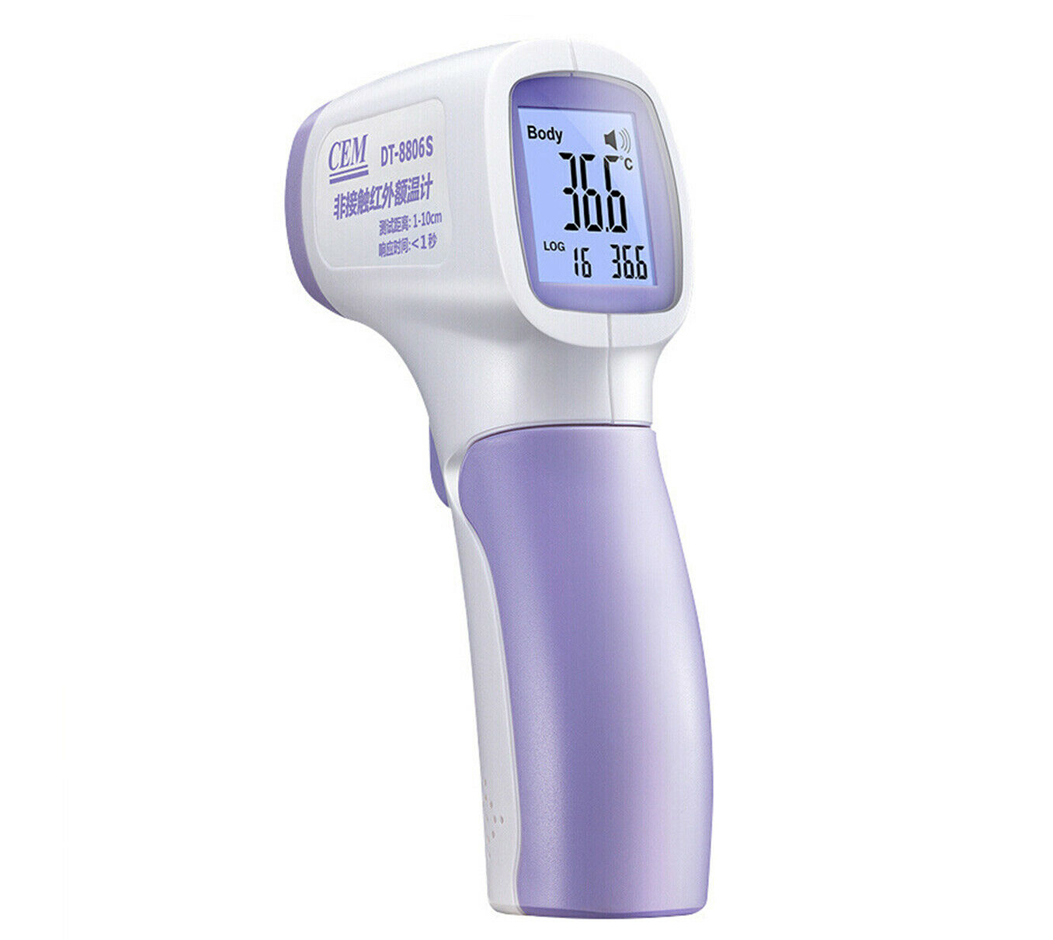 DT-8806S | CEM | Non-Contact Clinical Forehead Infrared Thermometers