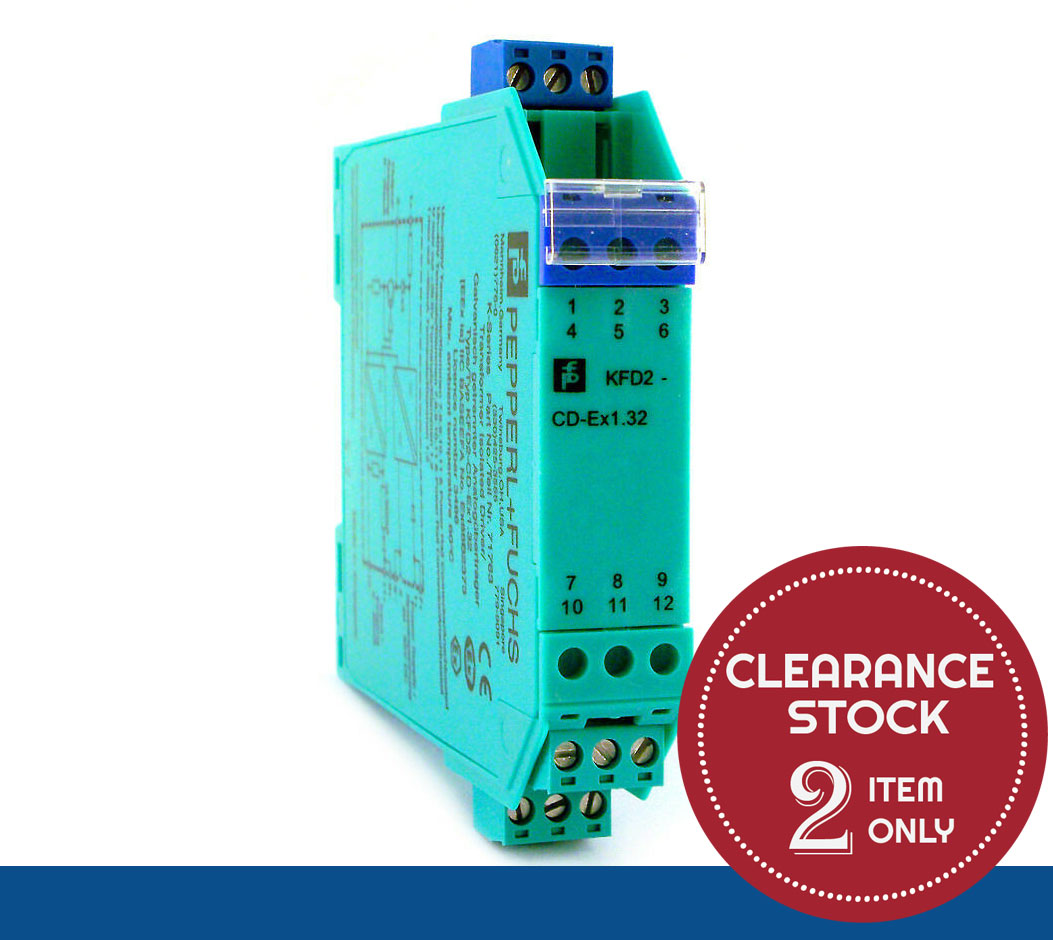 KFD2-CD-Ex1.32 | Pepperl+Fuchs | 1-Channel Current/Voltage Driver *CLEARANCE STOCK - 2 UNIT ONLY*