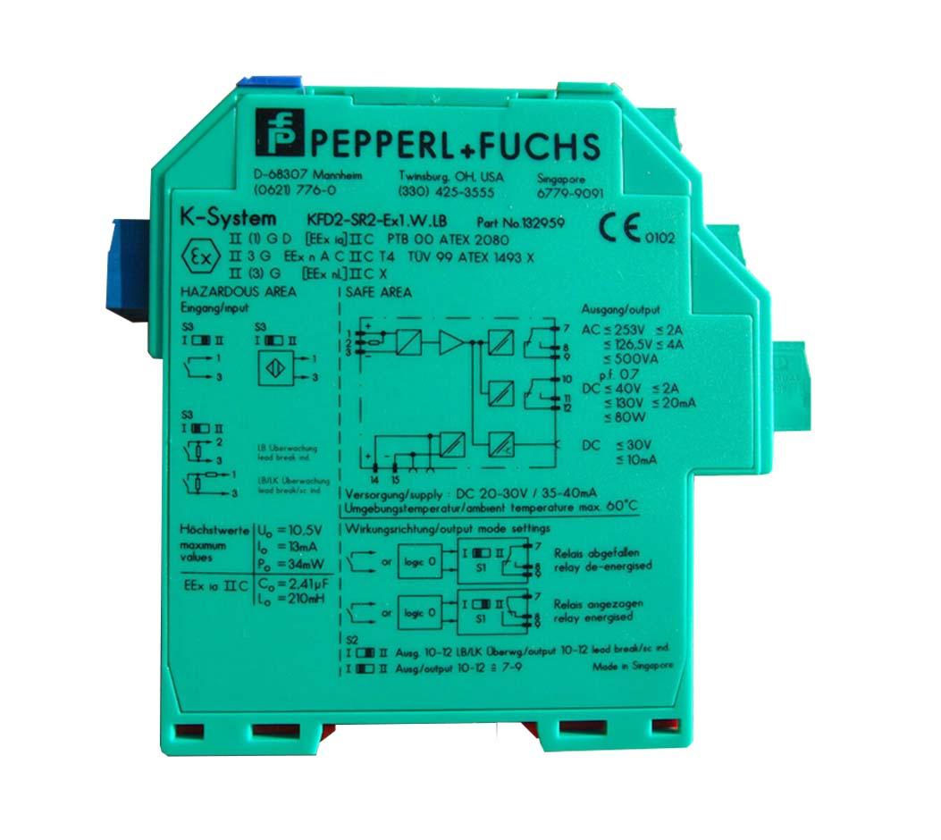 NEW Pepperl Fuchs KFD2-SR2-EX1.W.LB Switch Amplifier