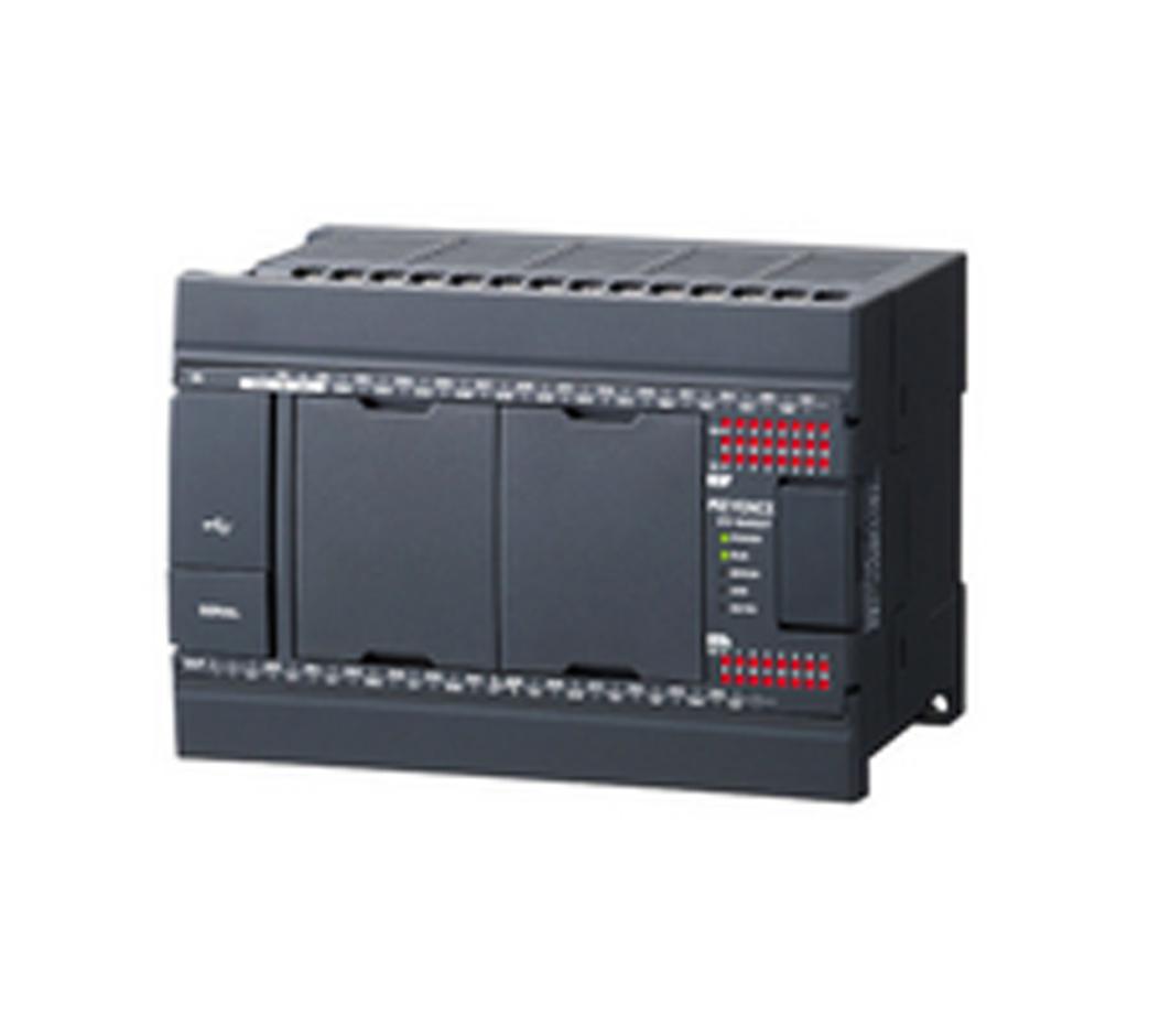 KV-N40DT | Keyence | Basic unit DC power supply type Input 24 points /  Output 16 points Transistor (sink) output
