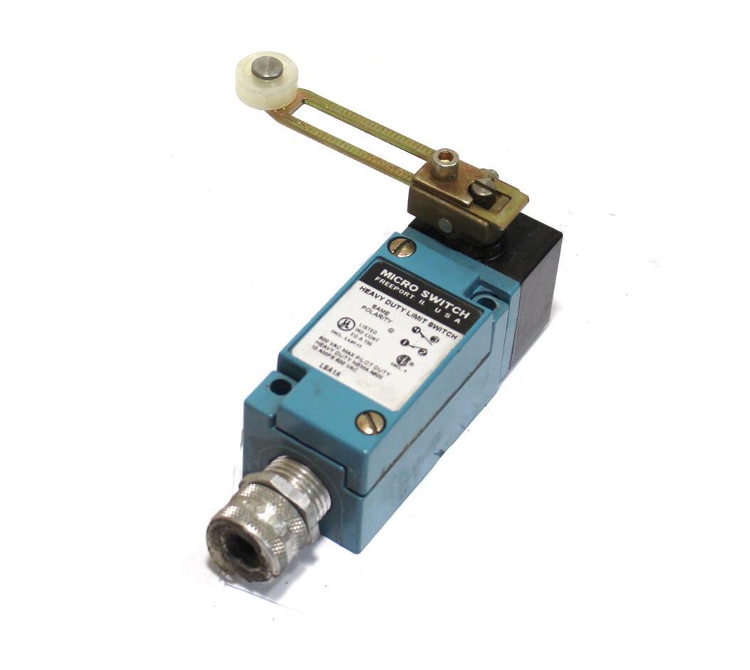 Honeywell Micro Switch Heavy Duty Limit Switch