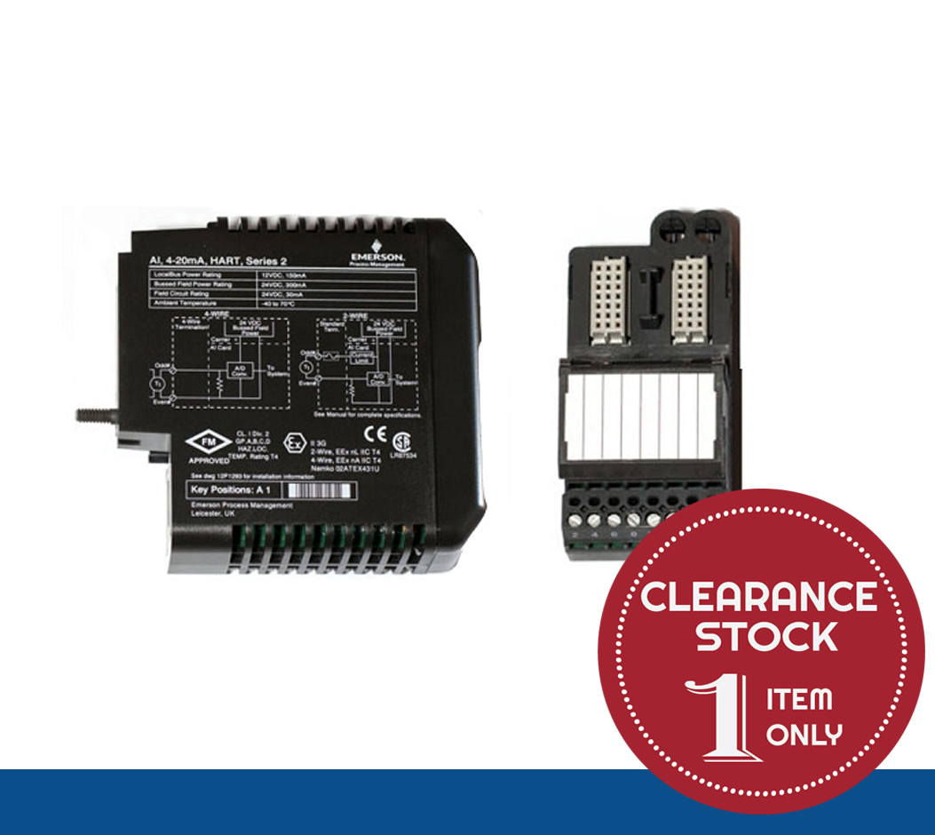 VE4003S2B1 | Delta V | Standard I/O Termination Block *CLEARANCE STOCK - 1 UNIT ONLY*