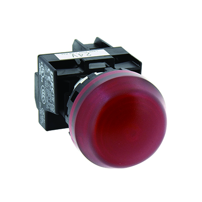 YW1P-2EQHG | IDEC | 22MM YW Series Pilot Lights (with Removable Contact Block) Full Voltage Dome LED