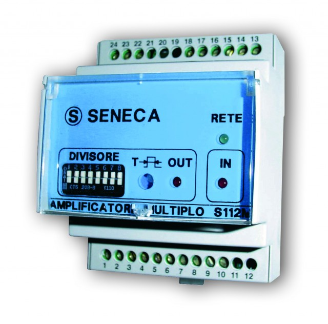 S112A-1-ST| Seneca |On/Off sensor digital amplifier, 1 relay output, 115 / 230 Vac