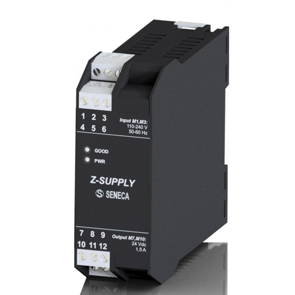 Z-SUPPLY| Seneca |Single-phase switching power supply 24V @ 1.5A