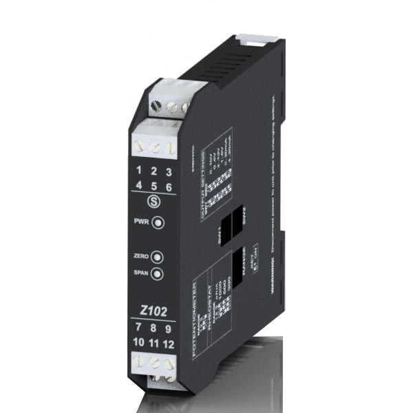 Z102| Seneca |Potentiometric to DC isolator / converter