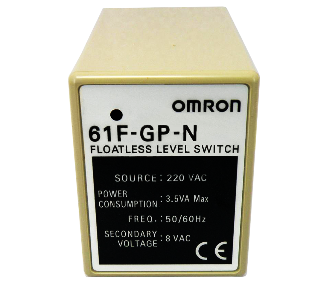 Omron 61f Gp N Ac220 Floatless Level Switch Compact