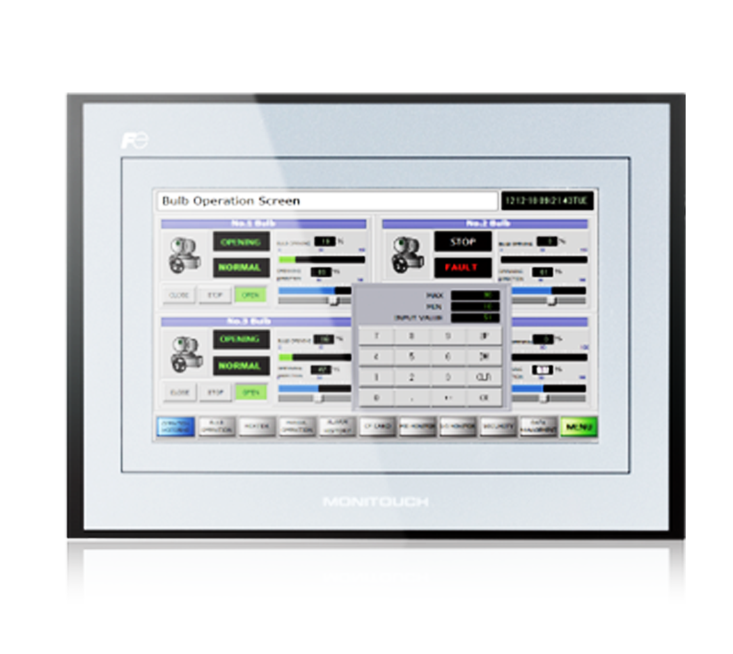 Touch Screen Panel Glass for FUJI Hakko MONITOUCH TS1070i TS1070 with Overlay