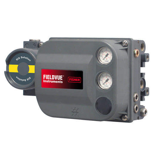 Fisher Digital Valve Controller:  VC6200 DOUBLE ACTING WITH FEEDBACK