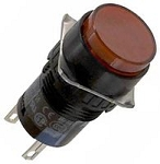 16mm Pushbutton Illuminated: AL6M-M14-R