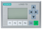 SIEMENS LOGO! TD TEXT DISPLAY: 6ED1055-4MH00-0BA0 (Stop production. New replacement : 6ED1055-4MH08-0BA0)