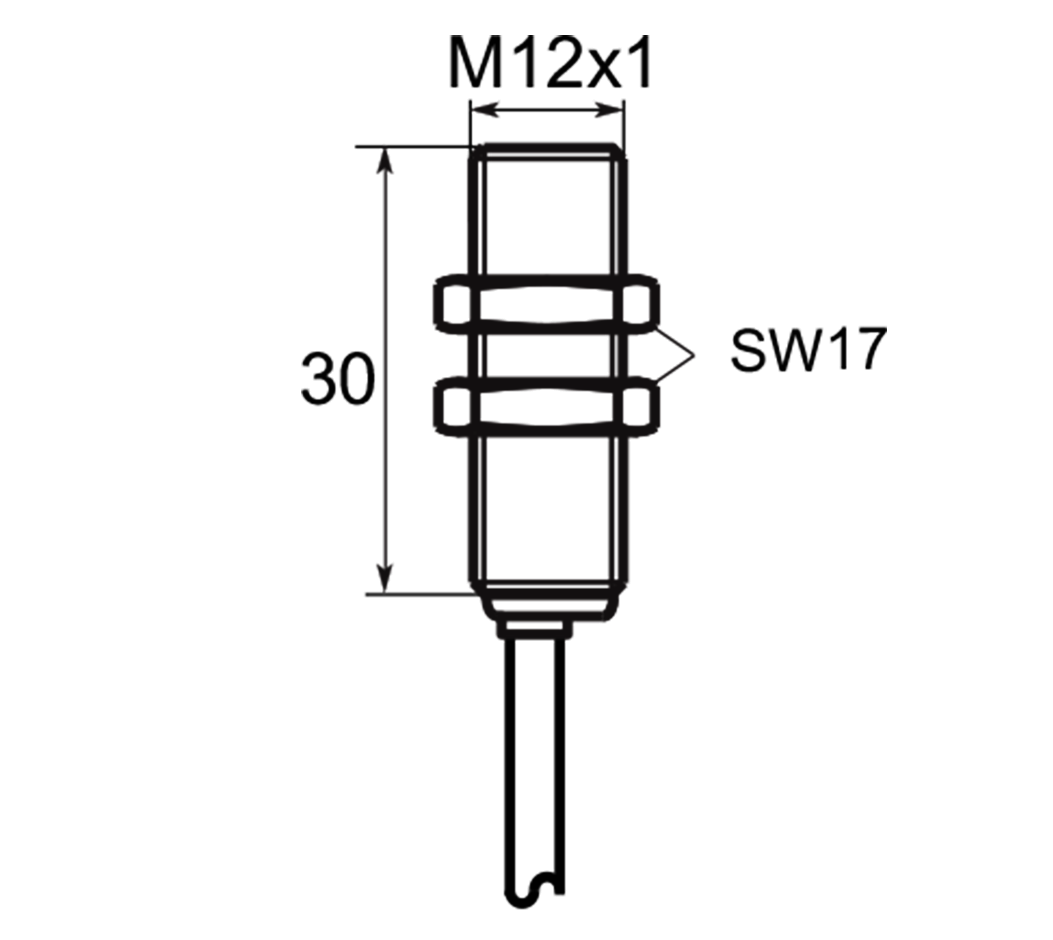 A01G122 | Selet Sensor | CILINDRICAL TYPE 12 mm DIAMETER