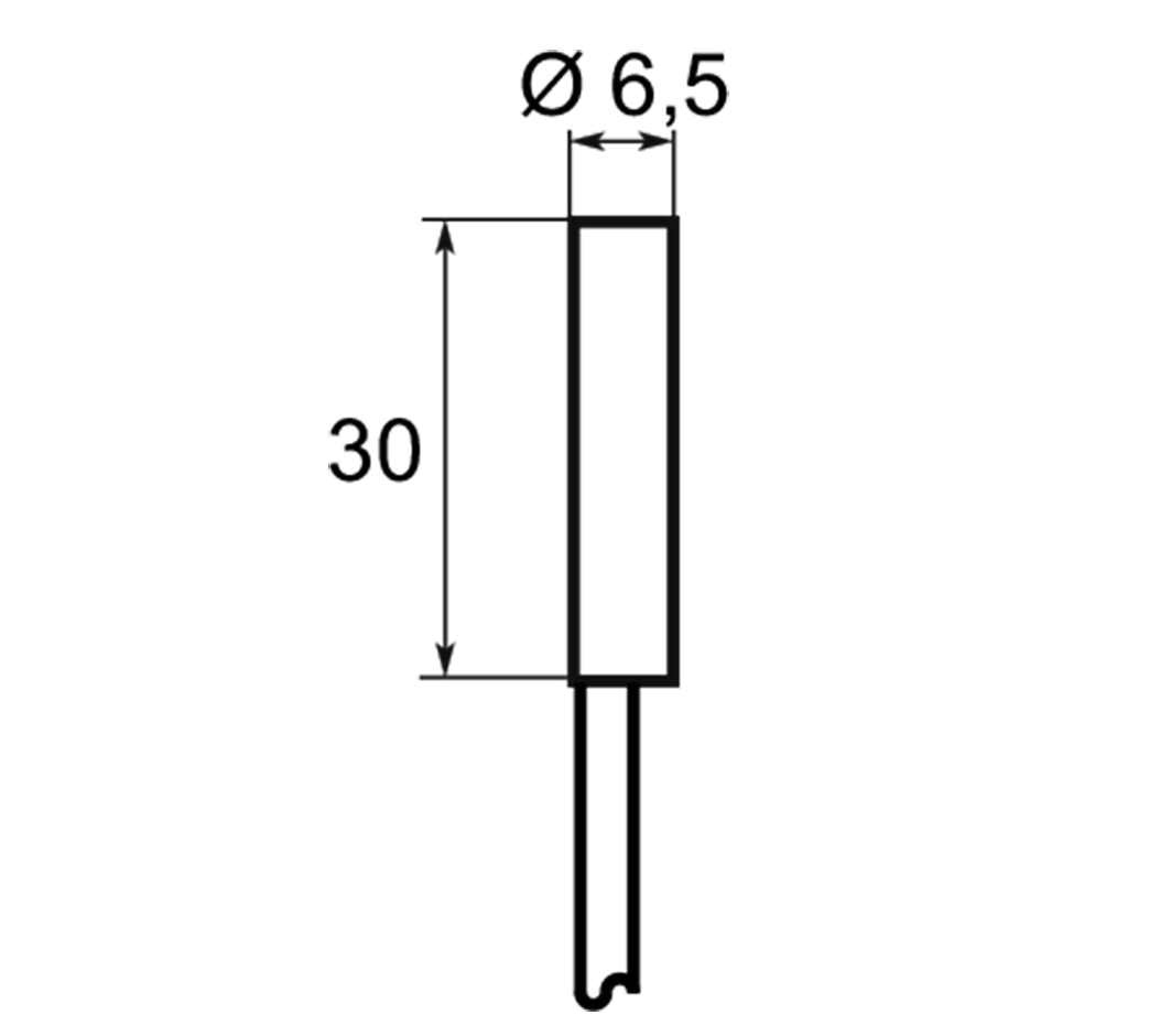 A01G6,51 | Selet Sensor | CILINDRICAL TYPE 6.5 mm DIAMETER
