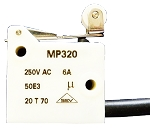 MP320-6MBL/375/200 | Microprecision Electronics SA | SEALED MINIATURE MICROSWITCH IP67