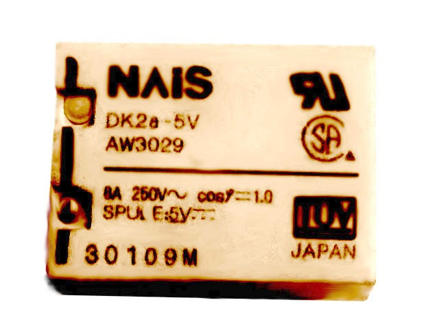DK2A-5V | NAIS | General Purpose Relay *Ready Stock - 1 UNIT ONLY*