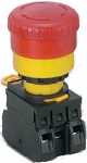 Idec 40mm Emergency Stop Switch: YW1B-V4E11R