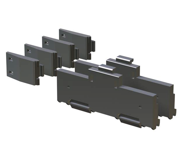 DIN rail mounting adapter Q 6 DIN 1