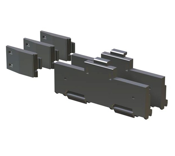 DIN rail mounting adapter Q 6 DIN 2