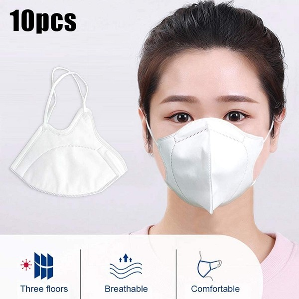 N95 Respirators and Surgical Masks (Face Masks) 10 pcs