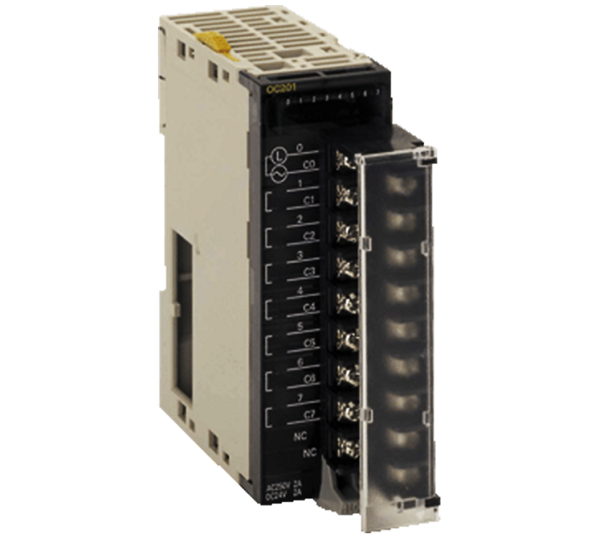 CJ1W-OC201 Contact Output Unit (Independent Relays, 8 Points)