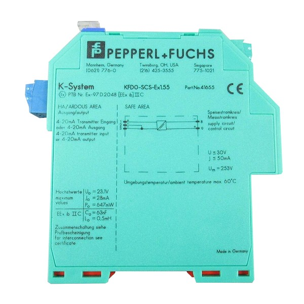 KFD0-SCS-EX1.55 | Pepperl+Fuchs | SMART Current Driver/Repeater