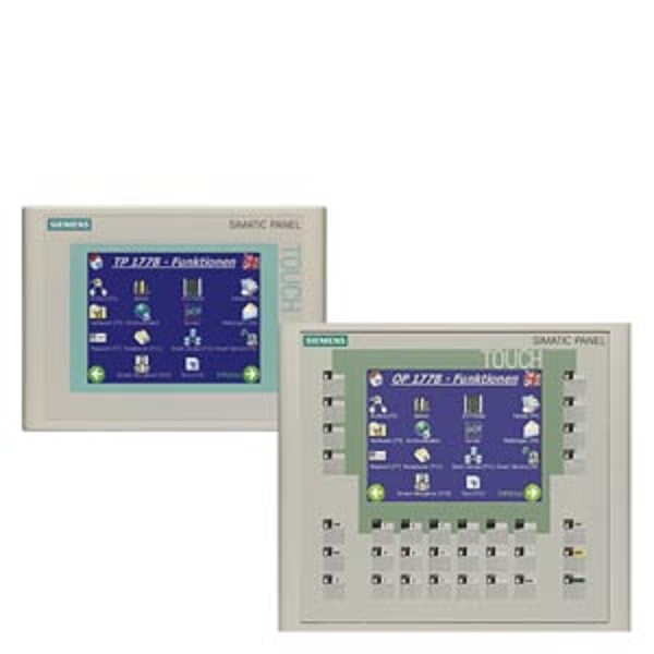 "6AV6642-0BC01-1AX1 | Siemens | SIMATIC Touch Panel 177B 6"" DP"