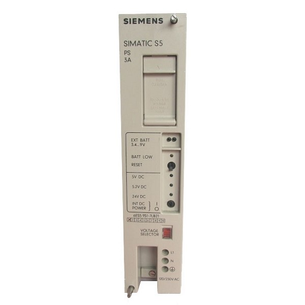 6ES5951-7LD21 | Siemens | SIMATIC S5 Power supply 951 (Refurbished)