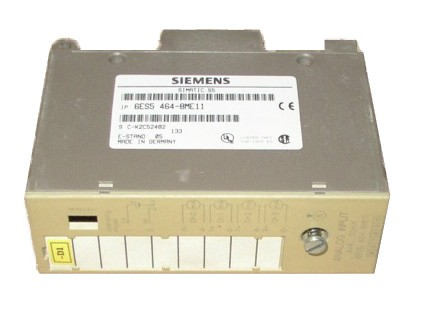 SIMATIC S5 464 ANALOG INPUT MODULE: 6ES5464-8ME11 (REFURBISHED !)