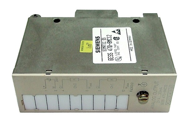 SIMATIC S5 470 ANALOG OUTPUT MODULE: 6ES5470-8MC12 (REFURBISHED !)
