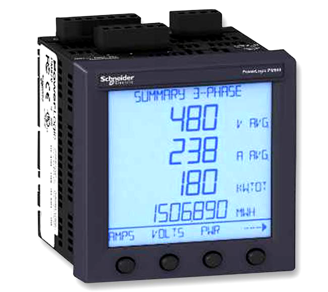 SCHNEIDER ELECTRIC  PM810MG  POWER METER, THD, LCD